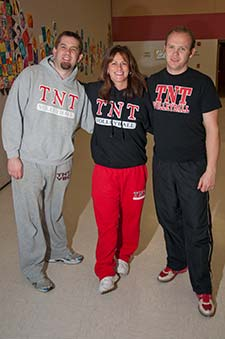 Picture of TNT Volleyball Club coaches